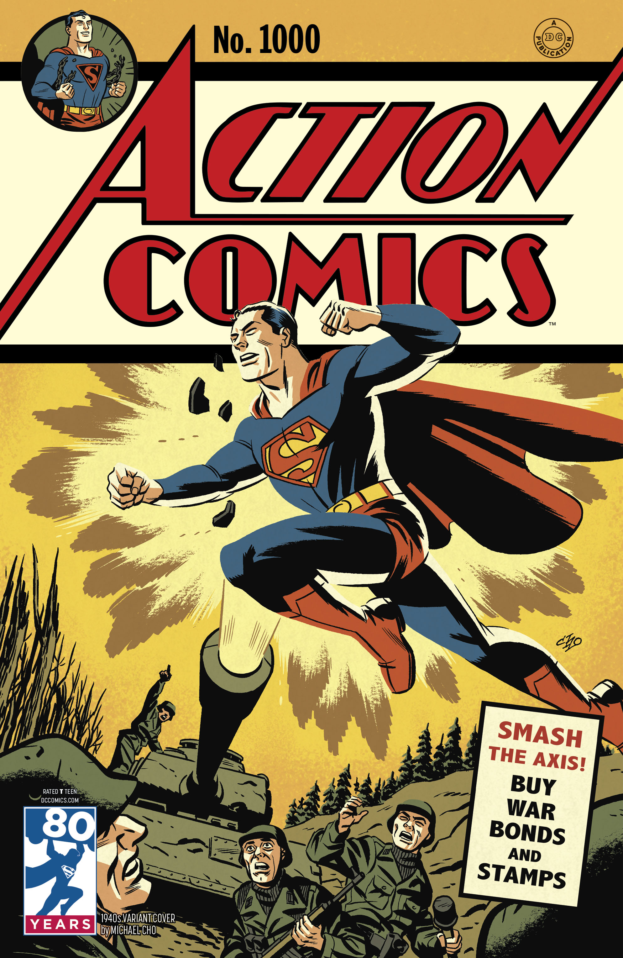 "Complete List of ""Action Comics #1000"" Variant Covers – Superman ..."