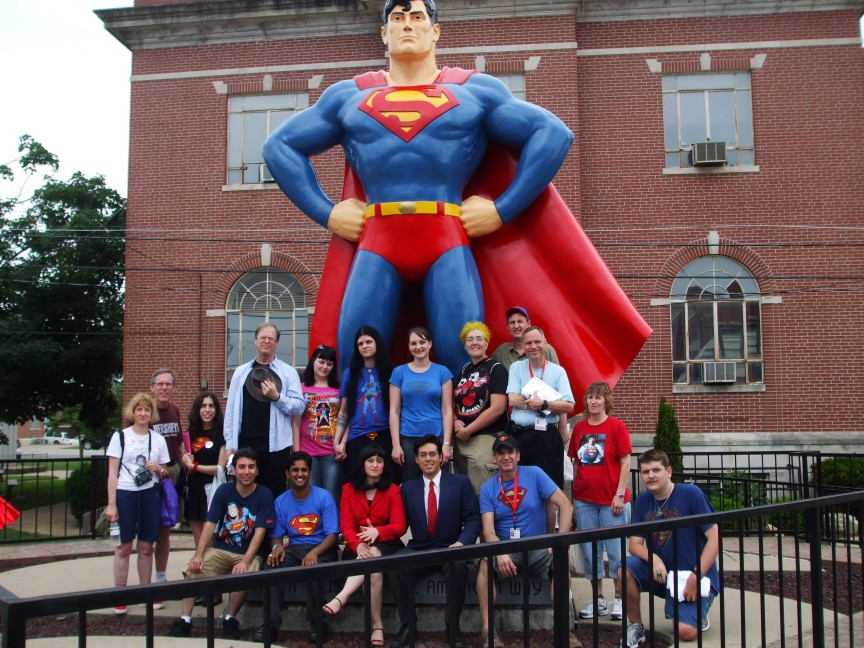Superman Homepage Meet and Greet