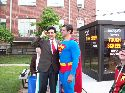 Clark and Superman