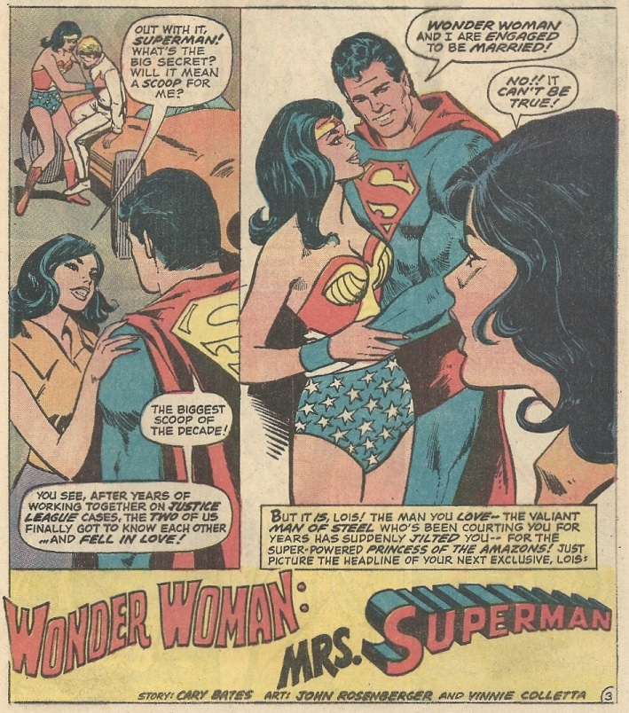 wonder woman and superman relationship