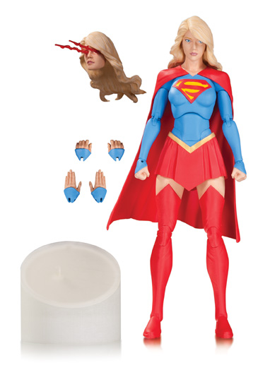 """1980/'s Wonder Woman Action Figure with Moving Arm 4 1//2/"""" tall"""
