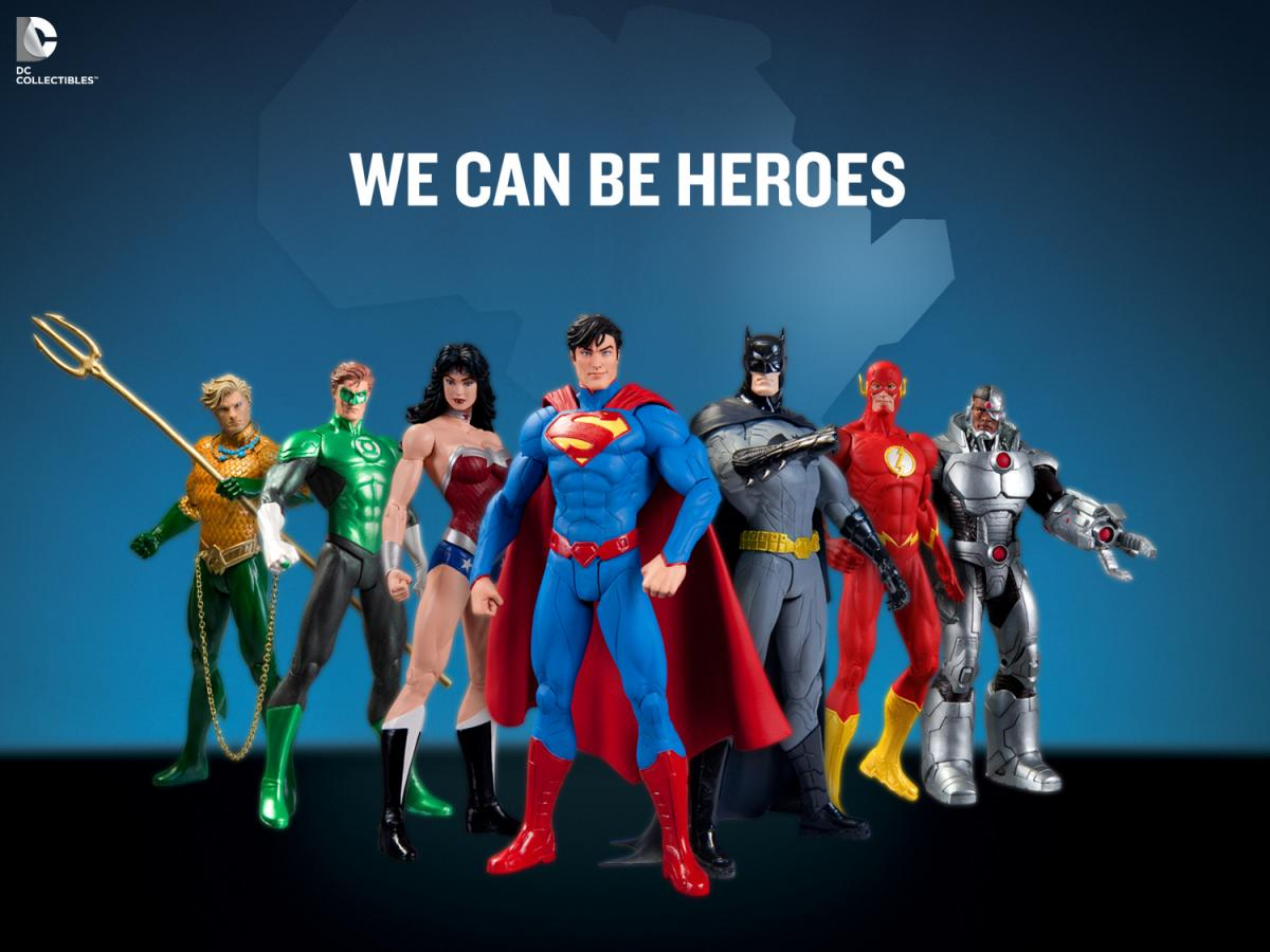 We Can Be Heroes: Justice