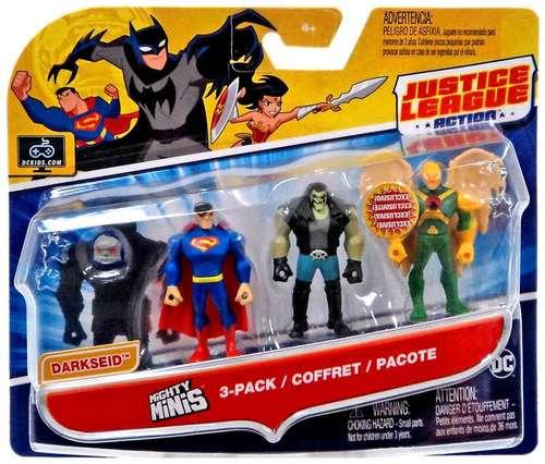 Heroclix DC OP 3 Figure Set LE Lex Luthor Captain Cold Sinestro