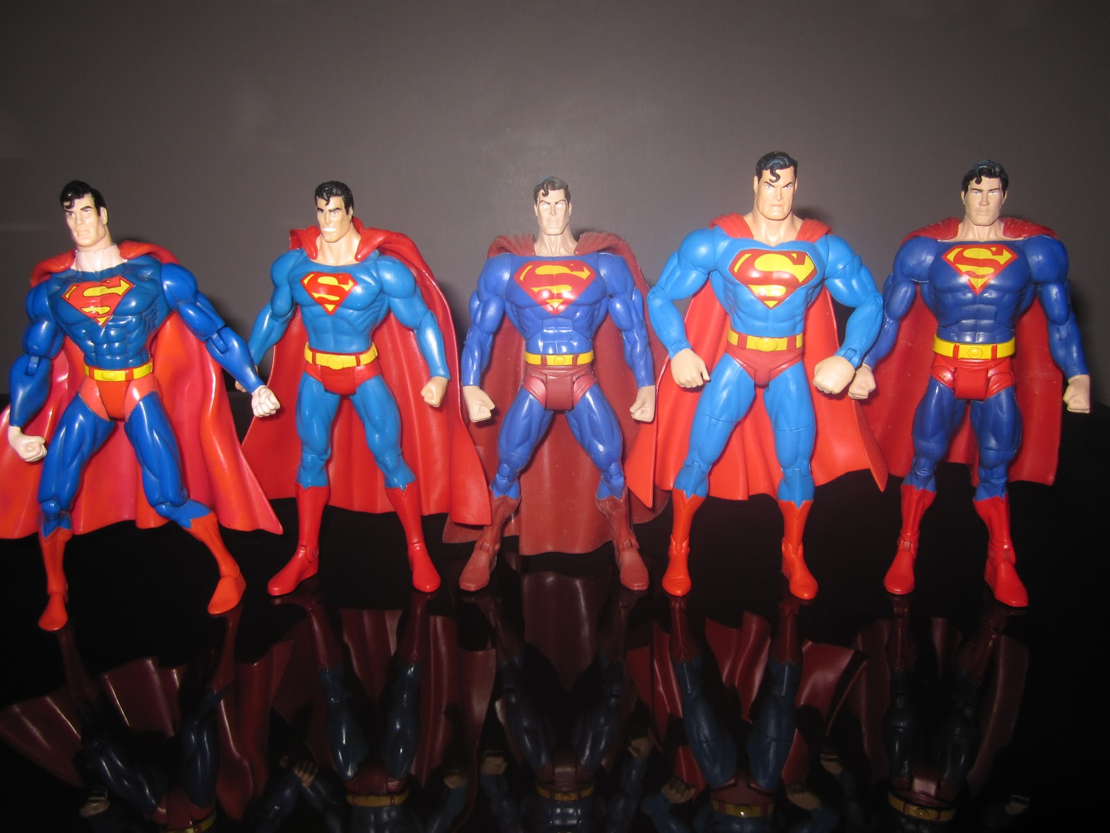 """3.75/"""" Dc Marvel Series Action  Figure Superman rivals zod  Toy"""