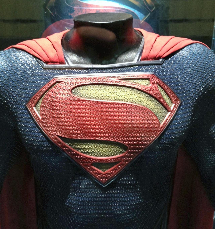 superman man of steel costume design
