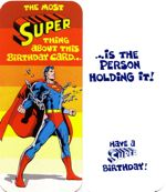 superman homepage, Birthday card