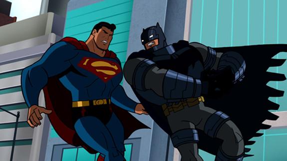 New Kids Cartoons: New Kids cartoon Superman vs Batman ...