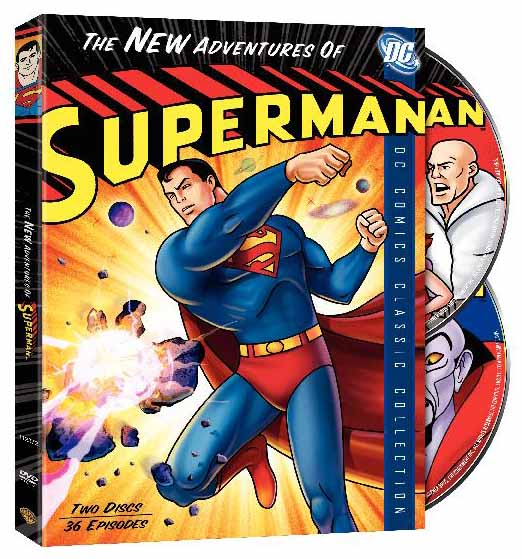 New Adventures of Superman DVD