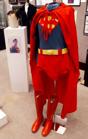 Movie Flying Suit on Auction