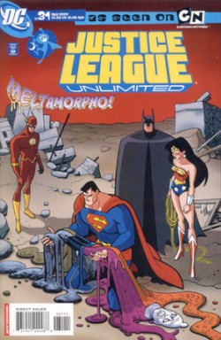 Justice League Unlimited #31