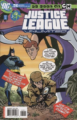 Justice League Unlimited #39