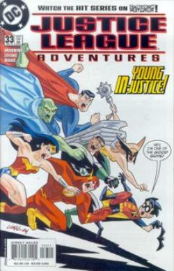 Justice League Adventures #33