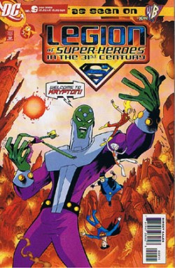 Legion of Super Heroes in the 31st Century #9