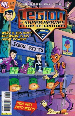 Legion of Super Heroes in the 31st Century #16