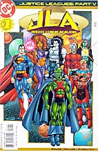Justice Leagues: JL of Aliens #1