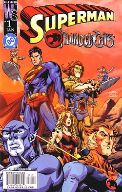 Thundercats on Superman Thundercats  1a