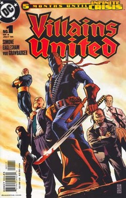Villains United #1