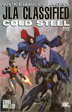 JLA Classified: Cold Steel #1