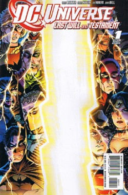 DC Universe: Last Will and Testament #1