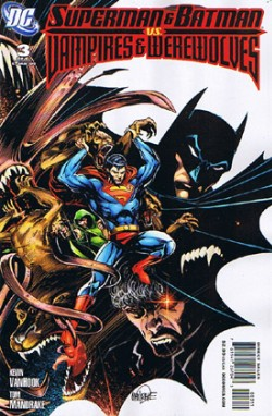 Superman and Batman vs. Vampires and Werewolves #3