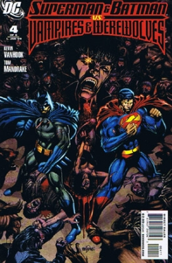 Superman and Batman vs. Vampires and Werewolves #4