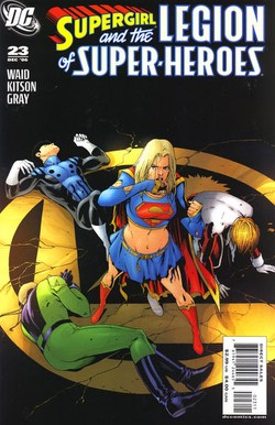 Supergirl and the Legion of Super-Heroes #23