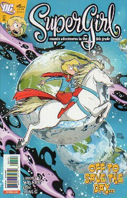 Supergirl: Cosmic Adventures in the Eighth Grade #6
