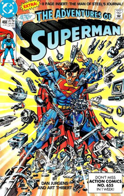 Adventures of Superman #468