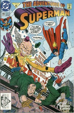 Adventures of Superman #496