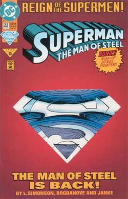 Man of Steel #22