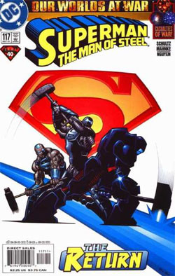 Superman: The Man of Steel #117