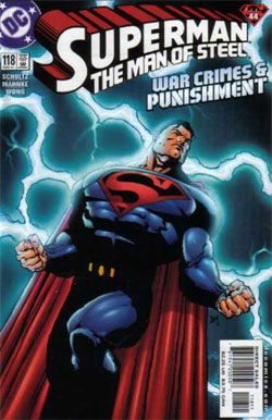 Superman: The Man of Steel #118