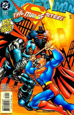 Superman: The Man of Steel #134