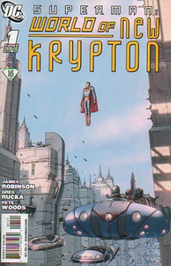 Superman: World of New Krypton #1