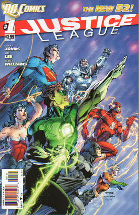 Justice League #1 (3rd Printing)