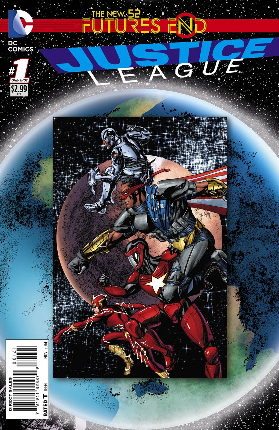 Justice League: Futures End #1