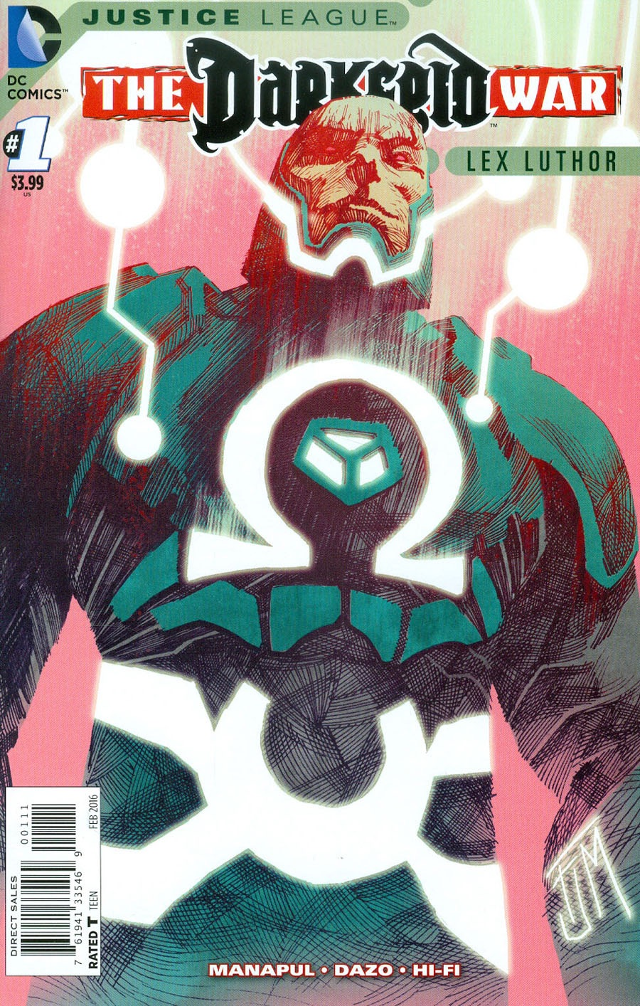 Justice League: Darkseid War - Lex Luthor #1