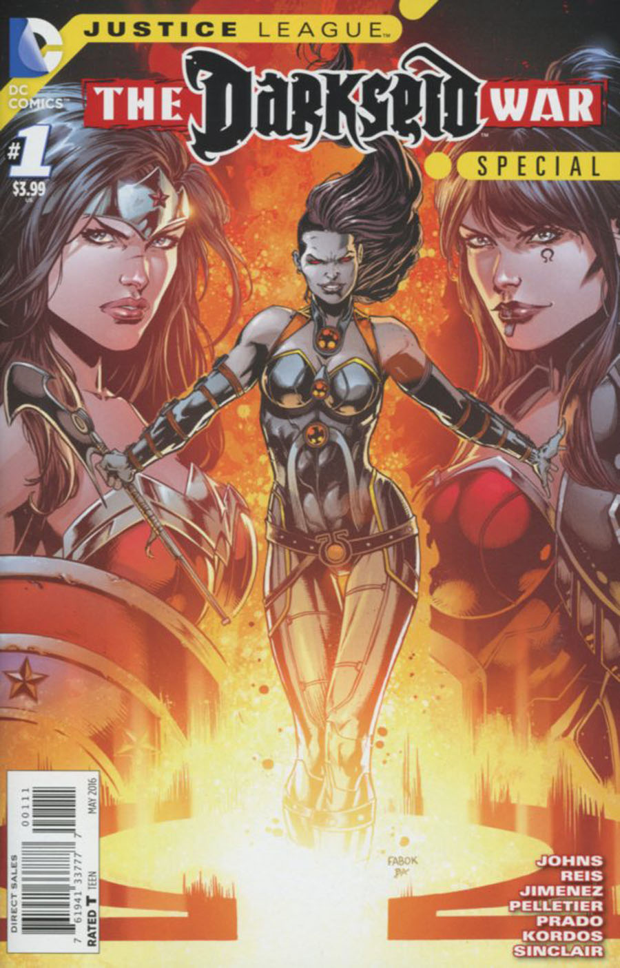 Justice League - Darkseid War Special #1