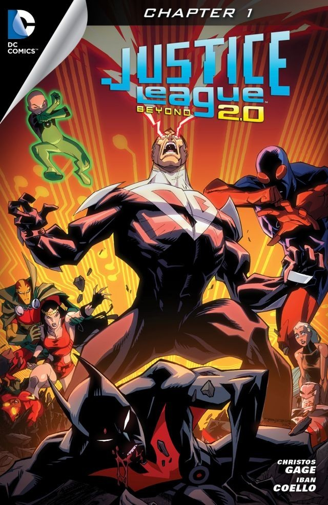 Justice League Beyond 2.0 - Chapter #1