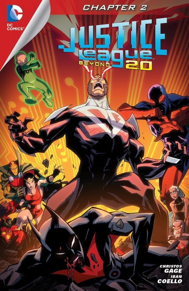 Justice League Beyond 2.0 - Chapter #2