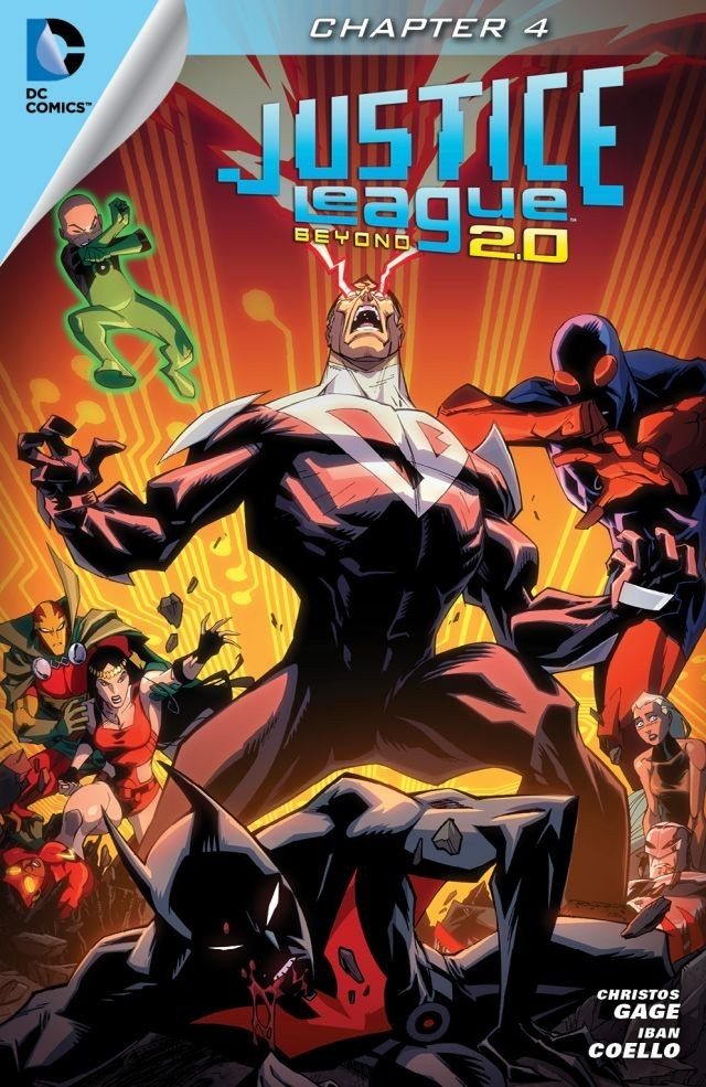 Justice League Beyond 2.0 - Chapter #4