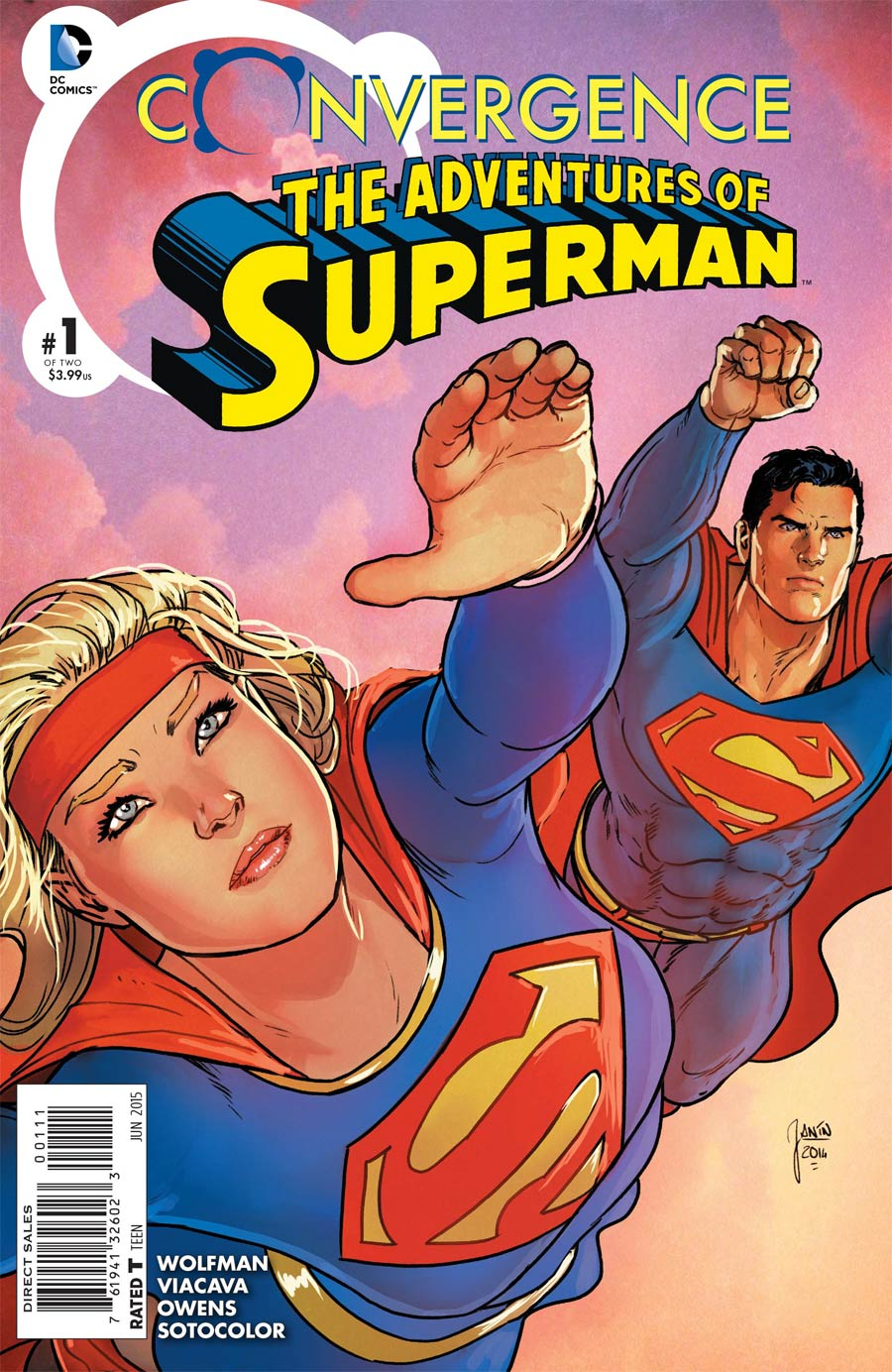 Convergence: Superman - Adventures of Superman #1