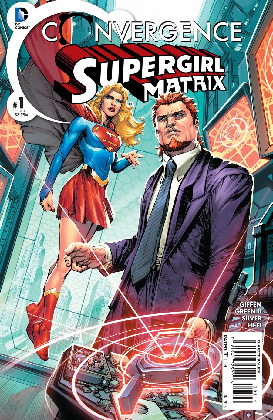 Convergence: Supergirl: Matrix #1