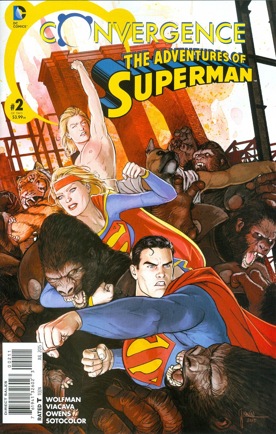 Convergence: Superman - Adventures of Superman #2