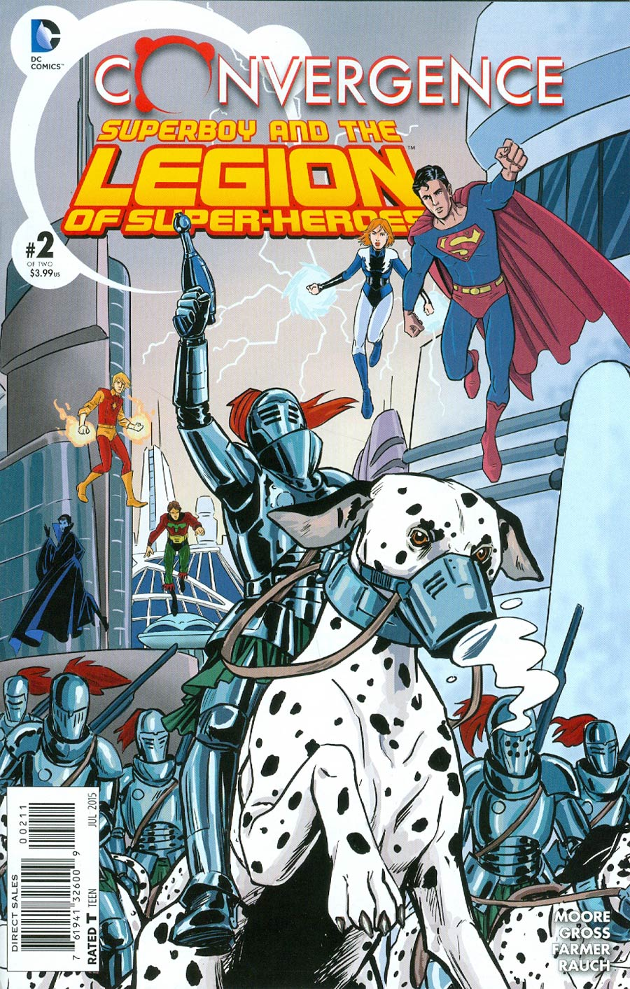 Convergence: Superboy and the Legion of Super-Heroes #2
