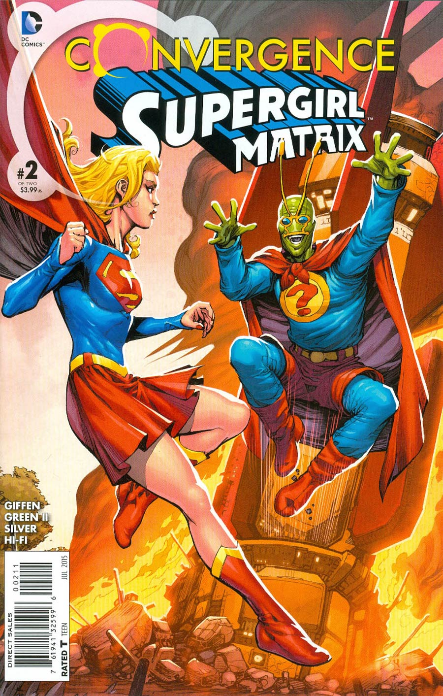 Convergence: Supergirl: Matrix #2