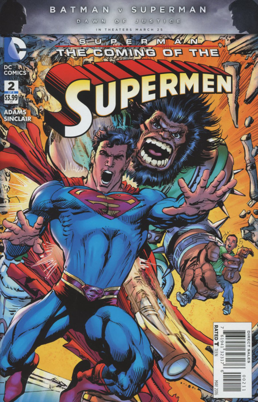 Superman: Coming of the Supermen #2