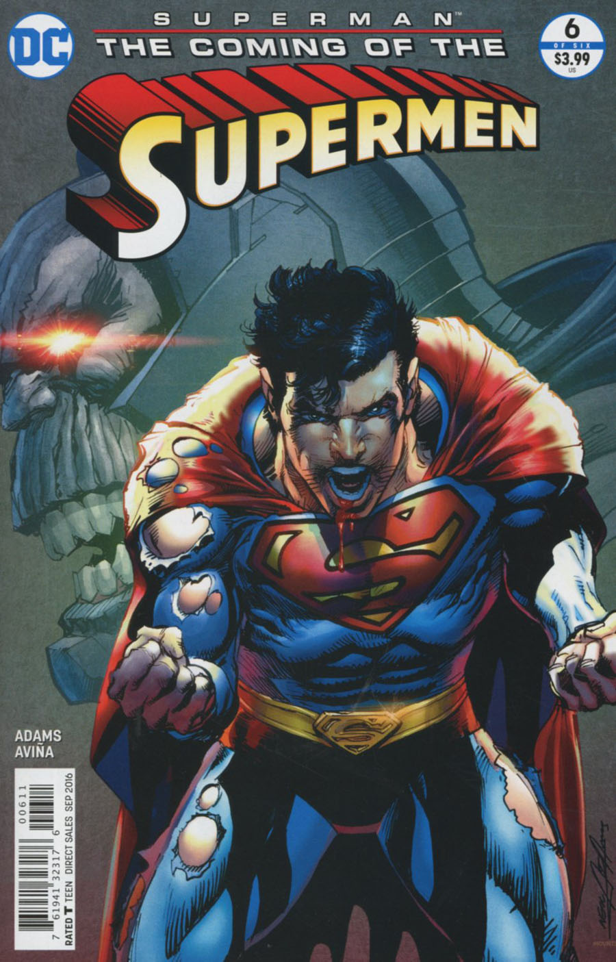 Superman: Coming of the Supermen #6
