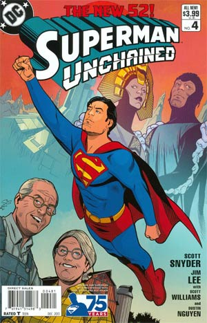 Superman Unchained - Chapter #4