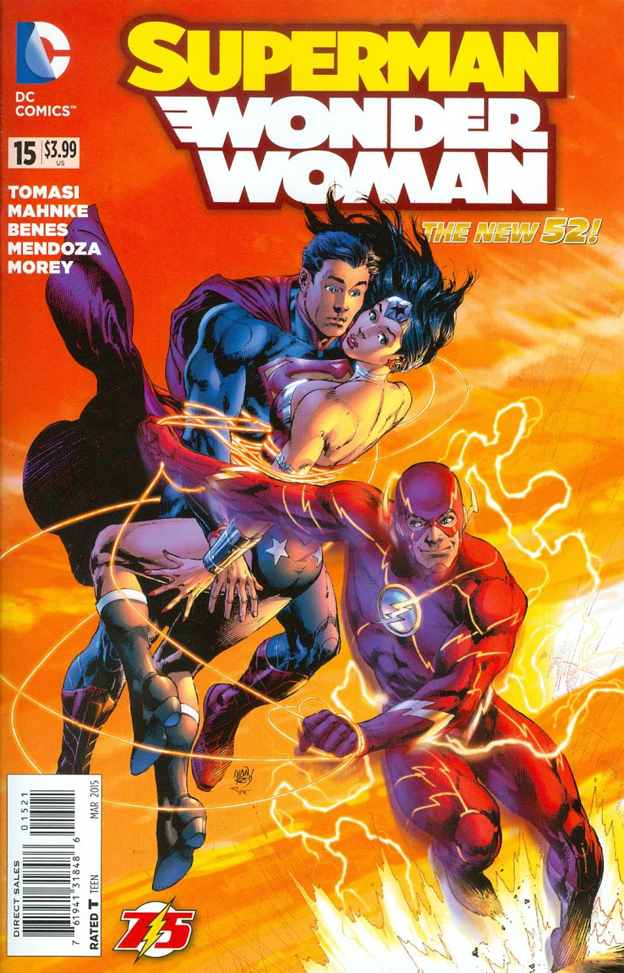 Superman/Wonder Woman #15
